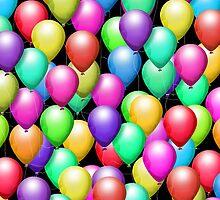 Party Balloons! iPad Case by Cherie Balowski