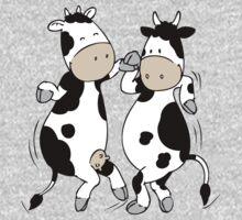 Mooviestars - Dancing Cows One Piece - Long Sleeve