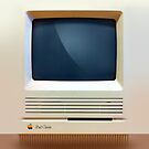 iPad Classic Retro Macintosh iPad Case by abinning