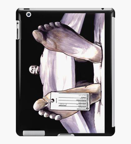 Toe Tag iPad Case/Skin