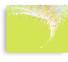 colors splashing Canvas Print
