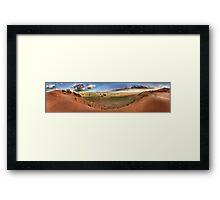 Sesriem Dunes Framed Print