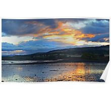 Cromarty Sunset Poster