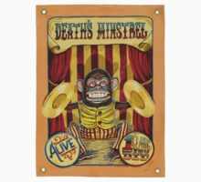 Death's Minstrel: Jolly Chimp Sideshow Banner Kids Clothes