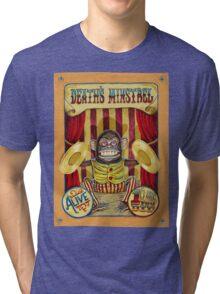 Death's Minstrel: Jolly Chimp Sideshow Banner Tri-blend T-Shirt