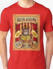 Death's Minstrel: Jolly Chimp Sideshow Banner Unisex T-Shirt