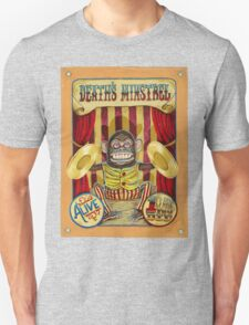 Death's Minstrel: Jolly Chimp Sideshow Banner T-Shirt