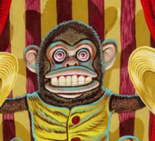 Death's Minstrel: Jolly Chimp Sideshow Banner Sticker