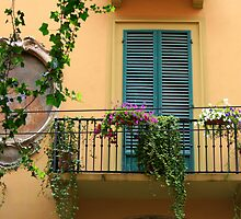 A balcony in Bologna by Segalili