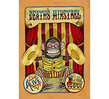 Death's Minstrel: Jolly Chimp Sideshow Banner Photographic Print