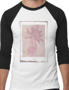 12th Doctor Negative Flower T-Shirt Men's Baseball ¾ T-Shirt