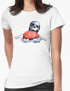 Brains! Live Brains! Womens Fitted T-Shirt