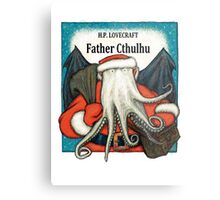 Father Cthulhu Metal Print