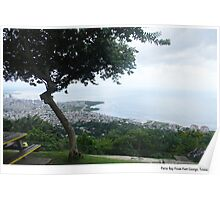 Paria Bay From Fort George, Trinidad. Poster