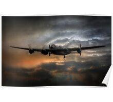 Lancaster Bomber  Poster