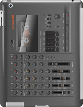 Portable 4-Track Recording Studio iPad Case by abinning
