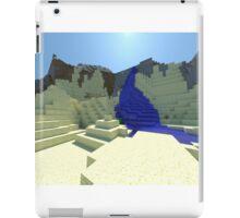 Life - Minecraft 3D Render iPad Case/Skin