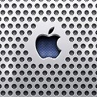 Apple Metallic Design iPad Cover by David Alexander Elder
