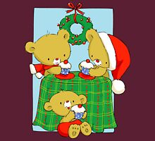 Christmas Bears eating Cupcakes Unisex T-Shirt