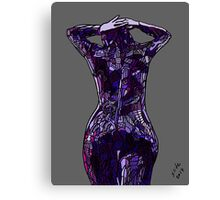 Purple Latex, 2014 Canvas Print