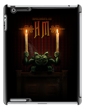 Haunted Mansion Gargoyle Design by Topher Adam for iPad 5 by TopherAdam