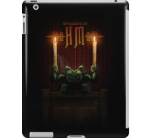 Haunted Mansion Gargoyle Design by Topher Adam for iPad 5 iPad Case/Skin