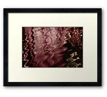 Chocolate Cherry Wine Framed Print