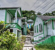 Little houses on Bennet's Hill - Nassau, The Bahamas by Jeremy Lavender Photography