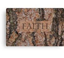 Faith Tree Canvas Print