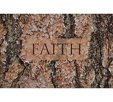 Faith Tree Photographic Print