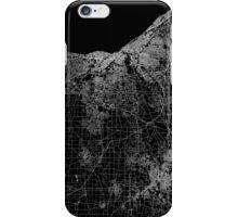 Cleveland map Ohio iPhone Case/Skin