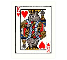 Moriarty, King of Hearts Art Print