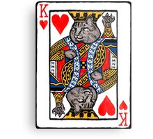 Moriarty, King of Hearts Metal Print
