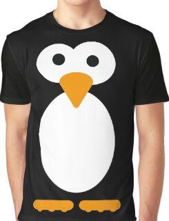 Minimal Penguin Graphic T-Shirt