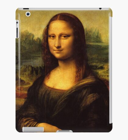 Mona Lisa, Leonardo da Vinci, iPad Case iPad Case/Skin
