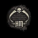 Haunted Mansion Retro Sign Design by Topher Adam for iPad by Hugs &amp; Bitchslaps SX Couture