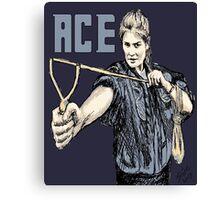 """Ace, 2014""  Canvas Print"