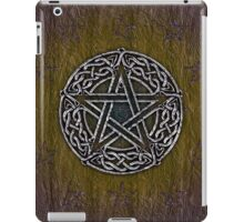 Celtic Pentacle, Pentagram iPad Case/Skin