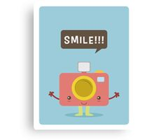 Kawaii Camera Canvas Print