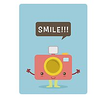 Kawaii Camera Photographic Print