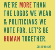 Let's Be Human by Colin Wright