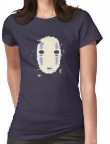 Kaonashi no-face Womens Fitted T-Shirt