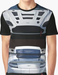 Aston Martin GT4 'Coming and Going' Graphic T-Shirt