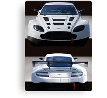 Aston Martin GT4 'Coming and Going' Canvas Print