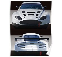 Aston Martin GT4 'Coming and Going' Poster
