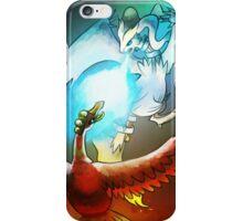 Ho-oh Vs. Reshiram iPhone Case/Skin