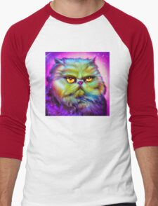 LouLou, persian cat Men's Baseball ¾ T-Shirt