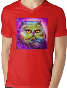 LouLou, persian cat Mens V-Neck T-Shirt