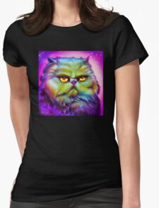 LouLou, persian cat Womens Fitted T-Shirt