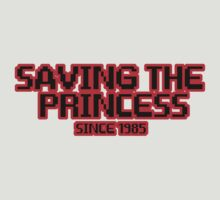 Saving The Princess Since 1985 by shakeoutfitters